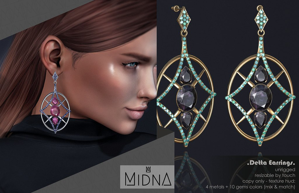 Midna - Detta Earrings