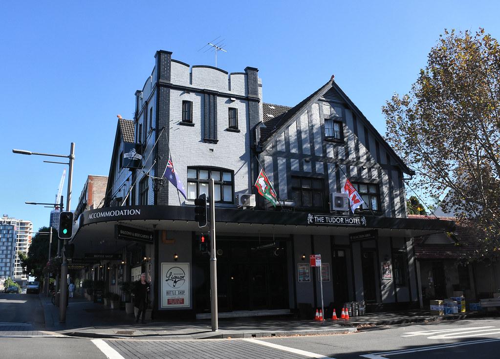 Tudor Hotel, Redfern, Sydney, NSW.