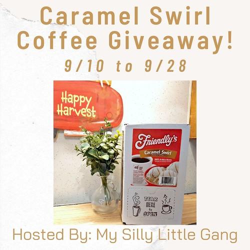Caramel Swirl Coffee Giveaway ~ Ends 9/28 @tworiversco #MySillyLittleGang