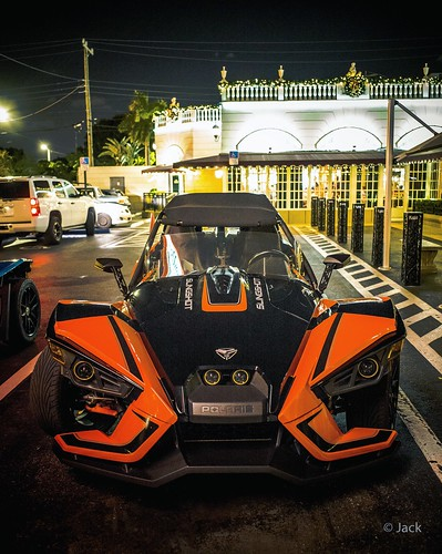 Miami mood - batmobile