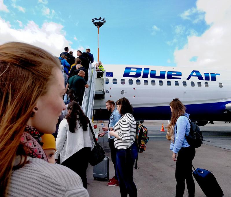 Blue Air halpalentoyhtiö