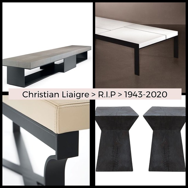 Christian Liaigre :: a Fabulous-French-Furniture-Designer & Interior Designer died- these are a few of his Copyrighted pieces I've been asked to recreate-and haven't!