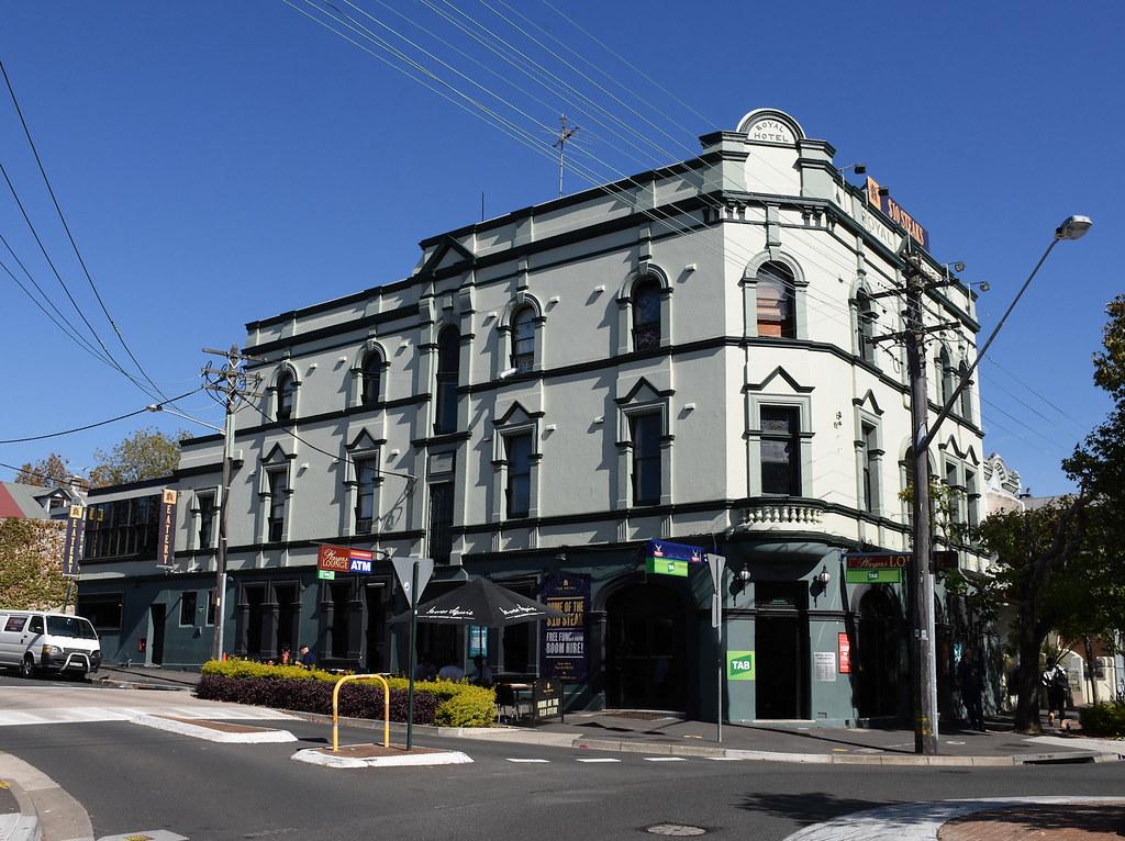 Royal Hotel, Darlington, Sydney, NSW.