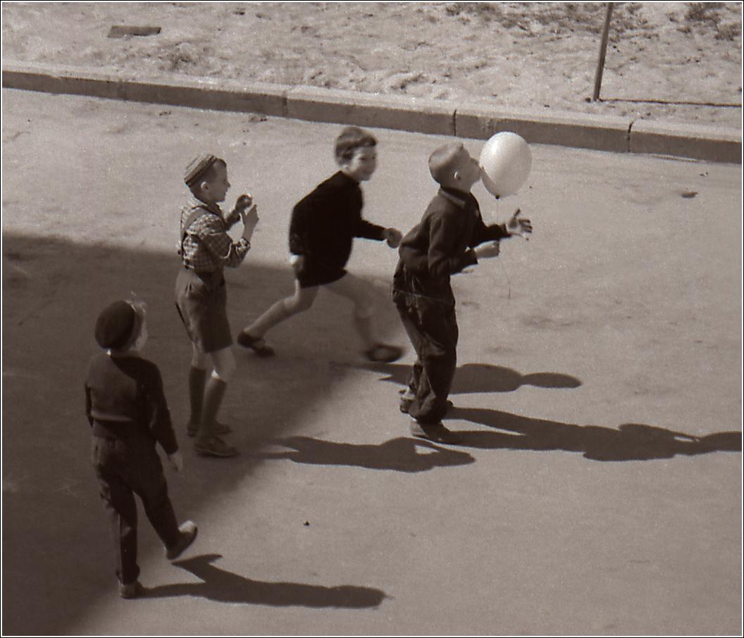39. 1960. Москва, Черемушки, ул. Гримау1