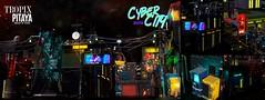 GIVEAWAY: Pitaya&Tropix - Cyber City