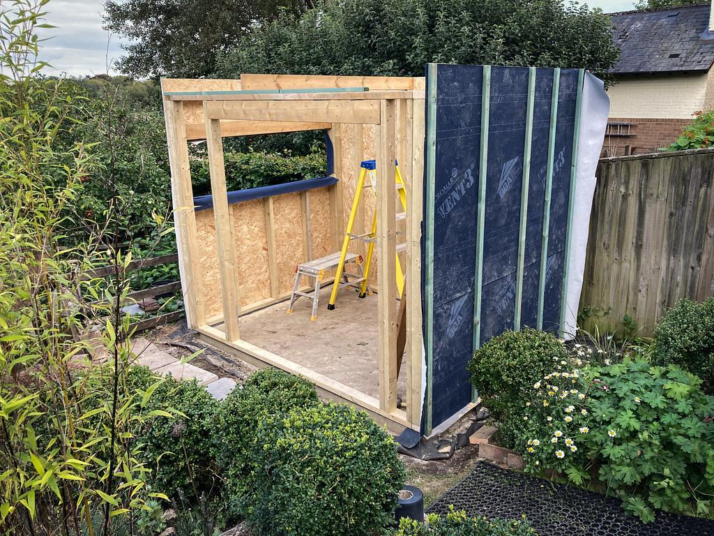 Garden room construction