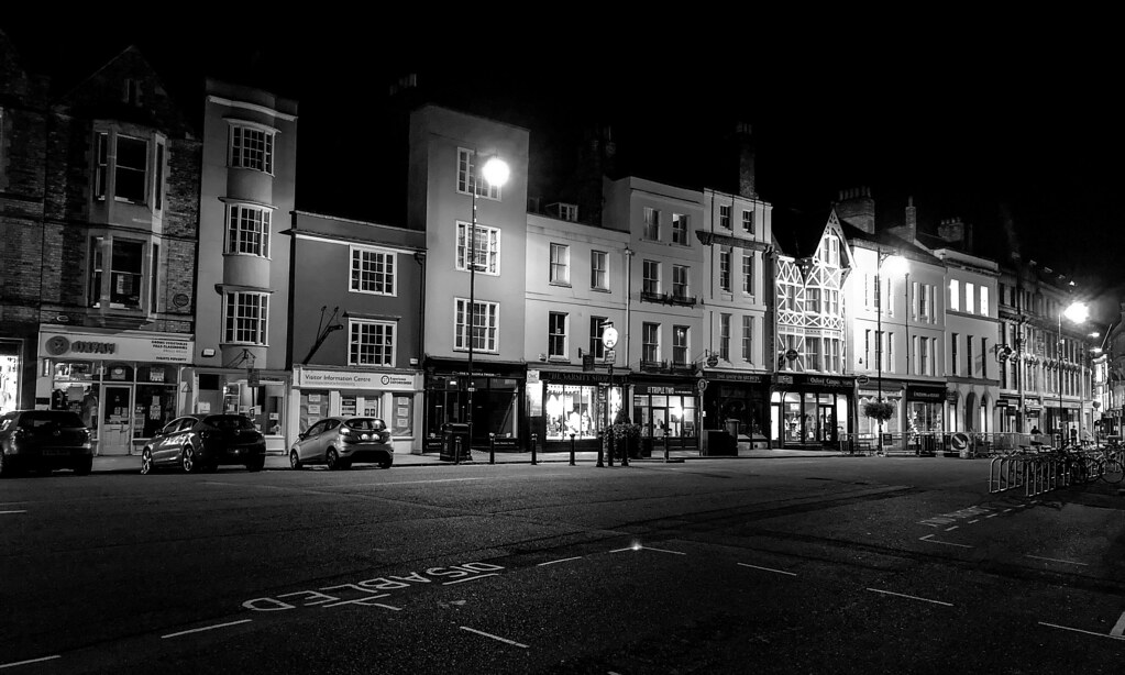 Night out in quiet Oxford