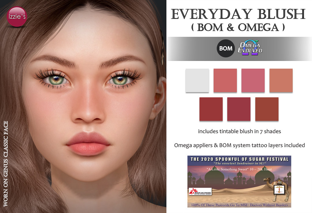 Everyday Blush (SOS Something Sweet Hunt)
