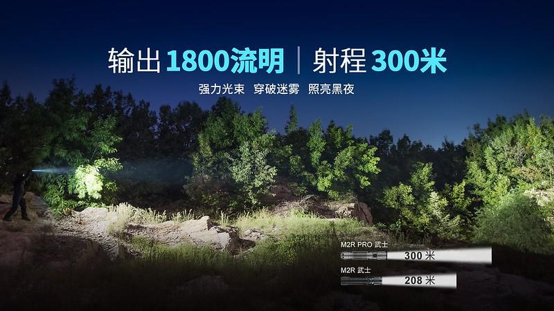 OLIGHT M2R PRO-Gunmetal Grey-2