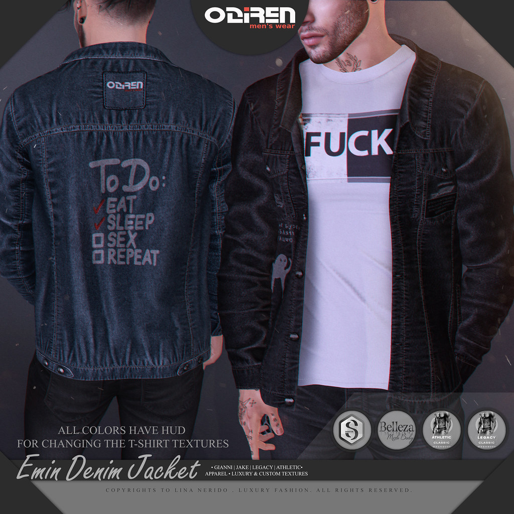 -ODIREN- Emin Denim Jacket
