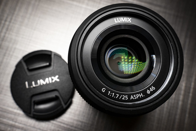 Lumix 25mm f/1.7