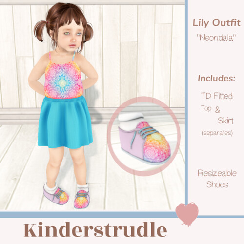 KS Lily Outfit - Neondala Ad - Group Gift! (Group 10L$ join)