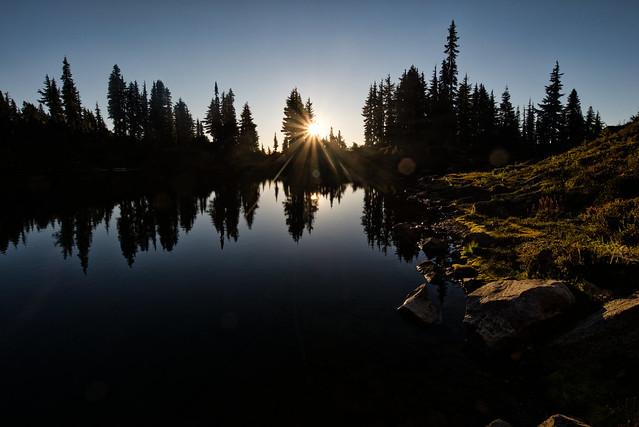 Lake Sally Ann at dawn