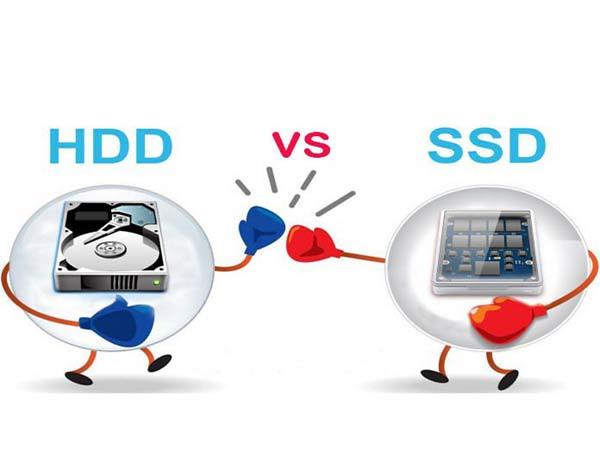 SSD và HDD cái nào tốt hơn