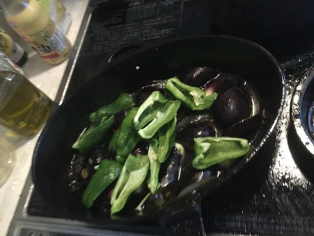 肉三種と夏野菜のグリル