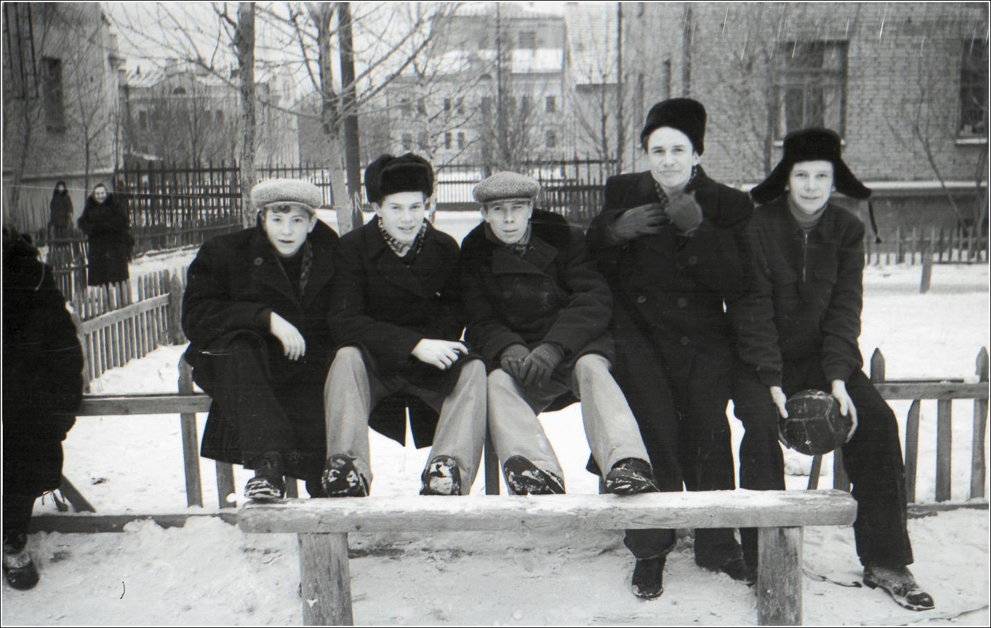 41. 1960. Хорошевское шоссе