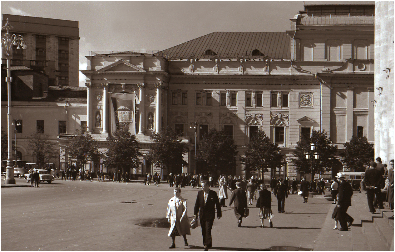 40. 1960. Театральный проезд, Большой театр
