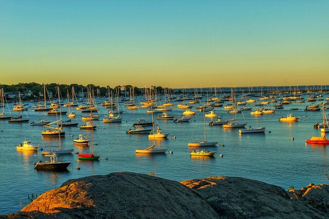 Light dawns on Marblehead Harbor