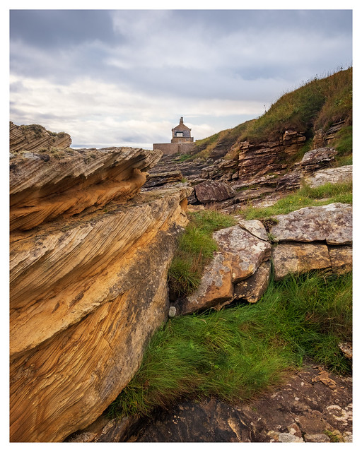 The Bathing House, Northumberland Coast_