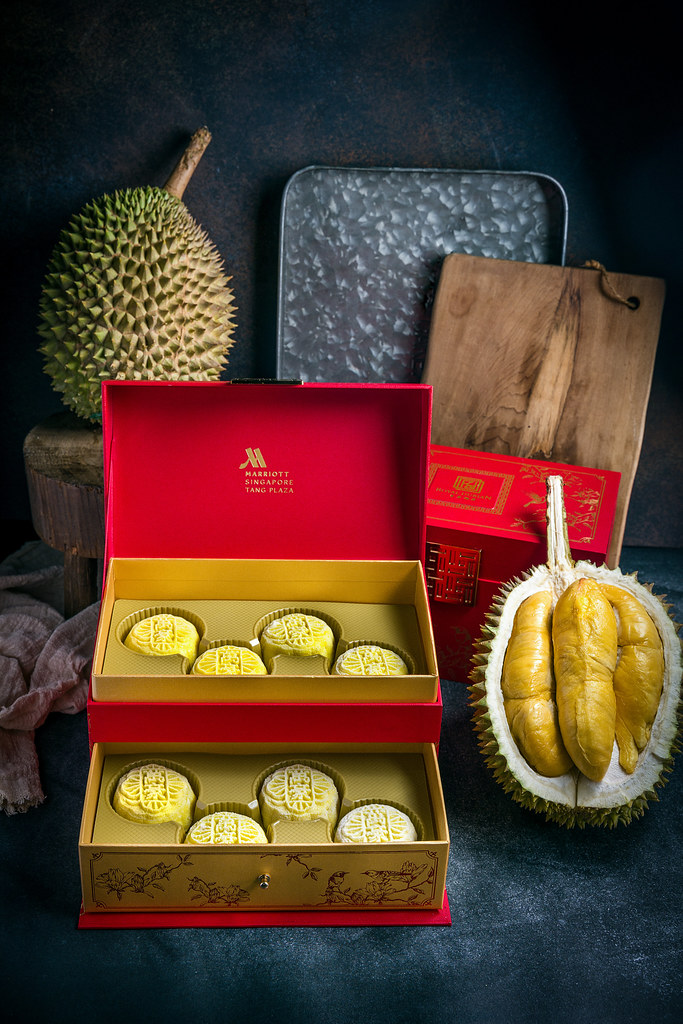 Royal Durian Snowskin Mooncake
