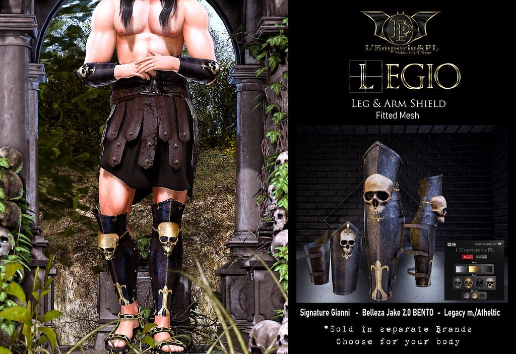 L'Emporio&PL::*Legio*:: Leg & Arm Shield