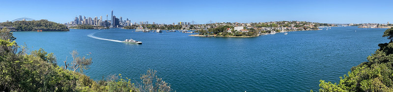 Sydney Harbour from Manns Point Park