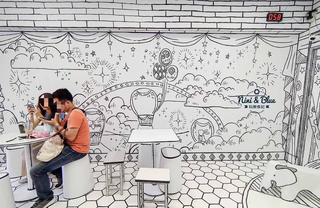 2D Cafe Taichung 紅點文旅 台中網美咖啡17