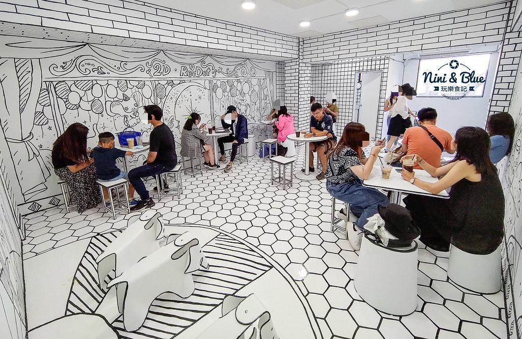 2D Cafe Taichung 紅點文旅 台中網美咖啡11