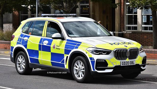 Kent Police BMW X5 GD20 OBL TD44