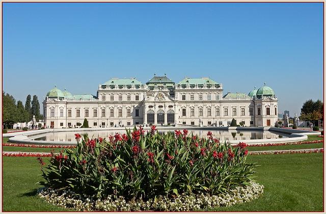 🌼💖🌼🌹🌼🌹🌼💖🌼 Wien ... Schloss Belvedere ...