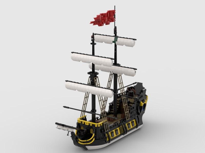Nelson navy style barracuda.