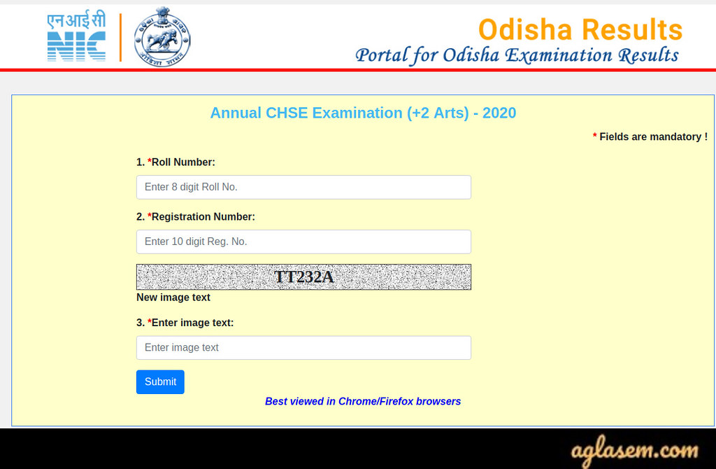 CHSE Class 12th Result 2020