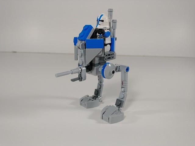 Lego star wars republic scout walker moc