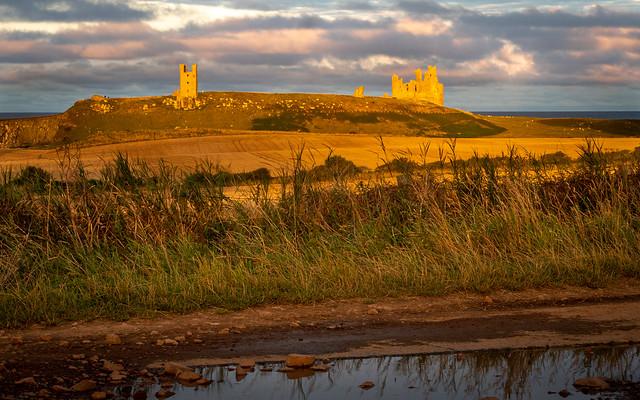 Evening light - Dunstanburgh Castle.jpg