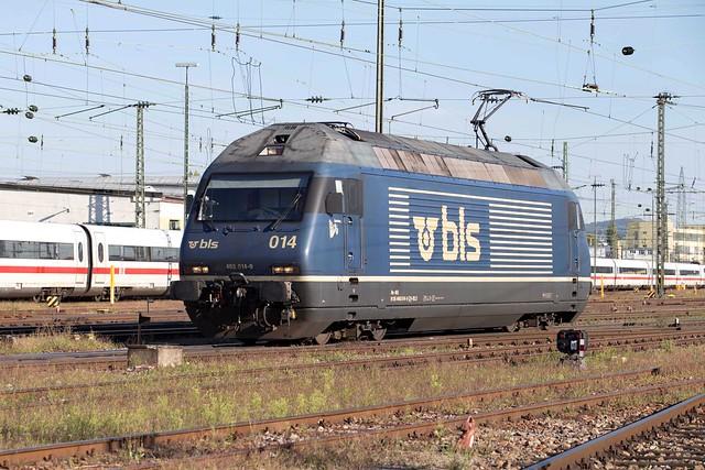BLS Re 465 014 Basel Badischer Bahnhof