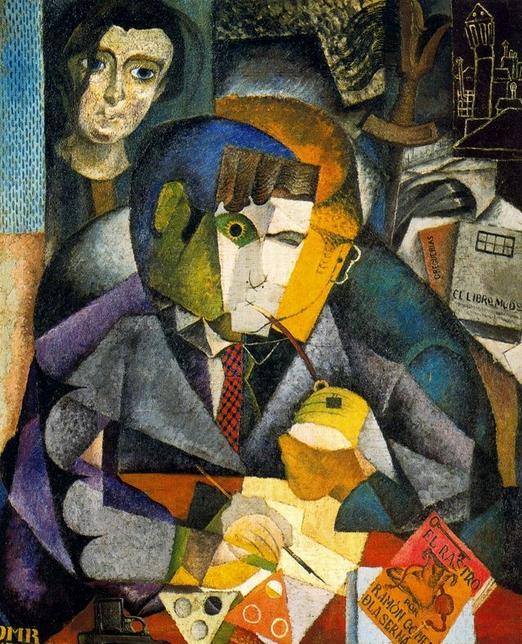 Diego Rivera - Retrato de Ramón Gómez de la Serna.