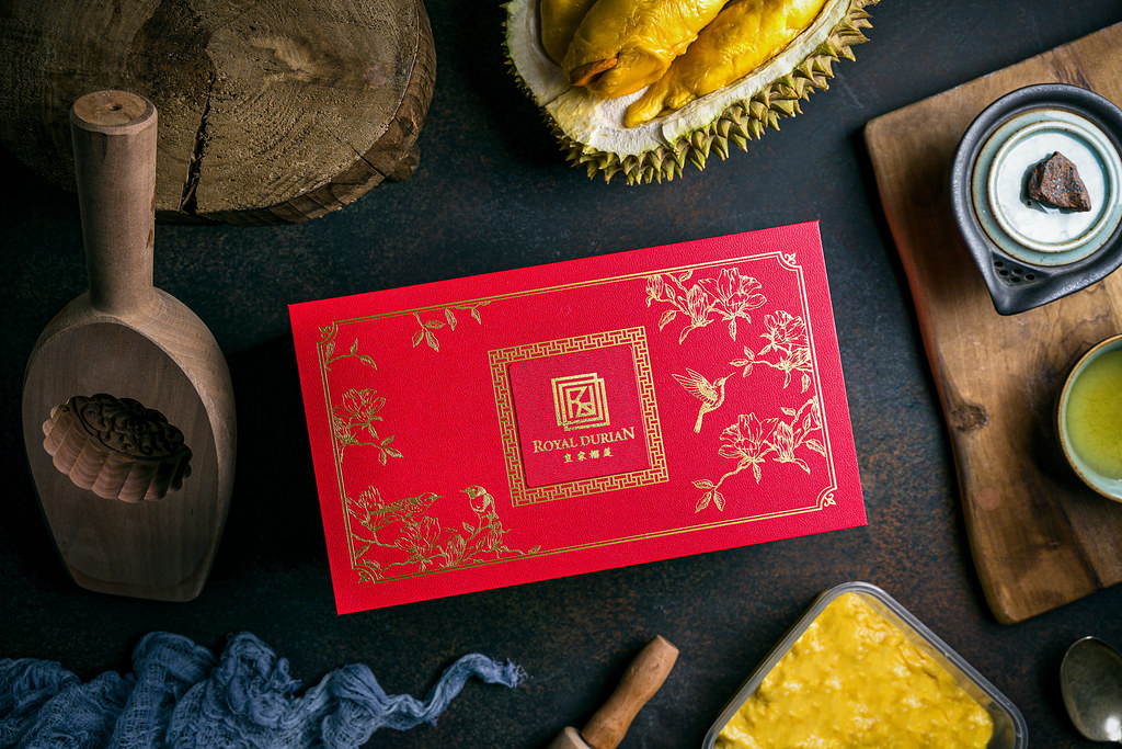 Royal Durian Snowskin Mooncake Box