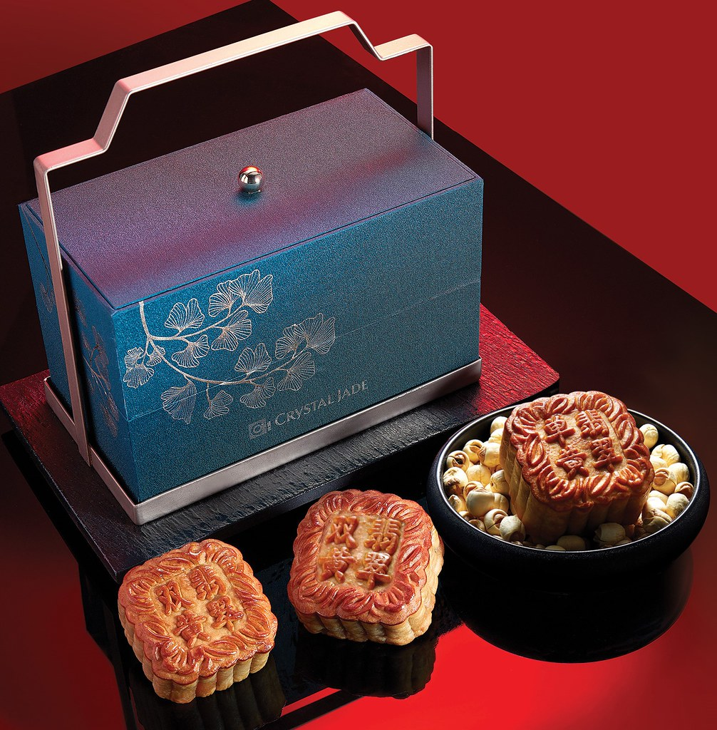 Crystal Jade mooncakes 2020_ExquisiteTwoTierBox