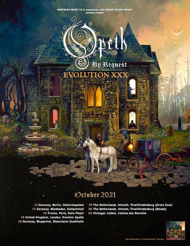 Opeth 2021 Tour