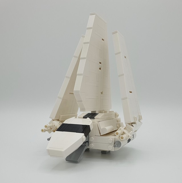 My very own Mini-Scale Imperial Shuttle MOC