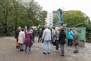 Begehung Marktplatz am Bundesplatz