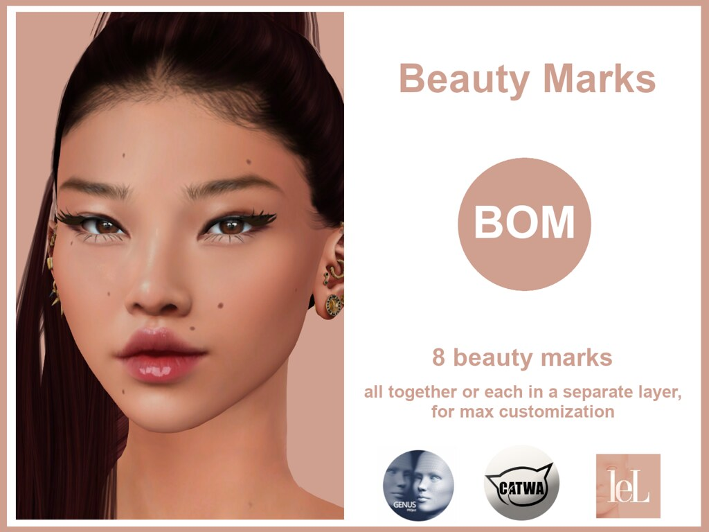-Pretty Perfect- Beauty Marks (BOM)