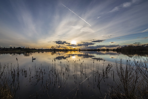 sky lake nature water clouds reflections landscape outside outdoors canon6d uk cambridgeshire
