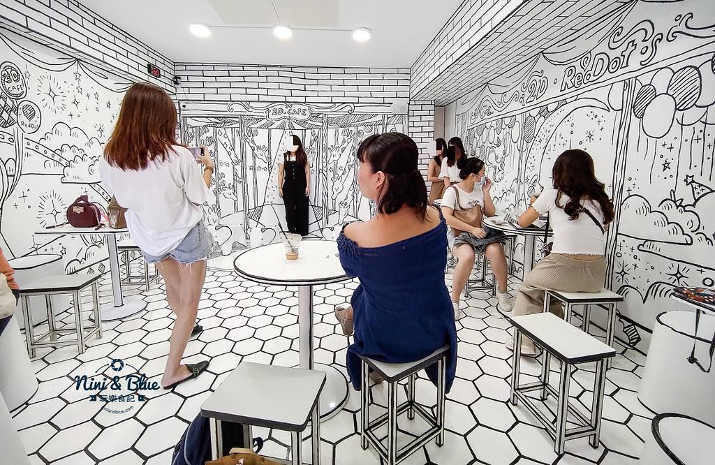 2D Cafe Taichung 紅點文旅 台中網美咖啡22