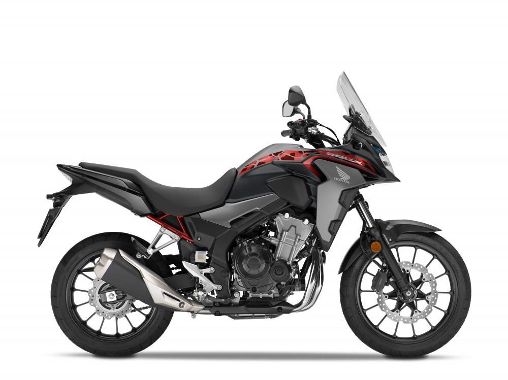 Honda CB500X Matt Gun Powder Black Metallic
