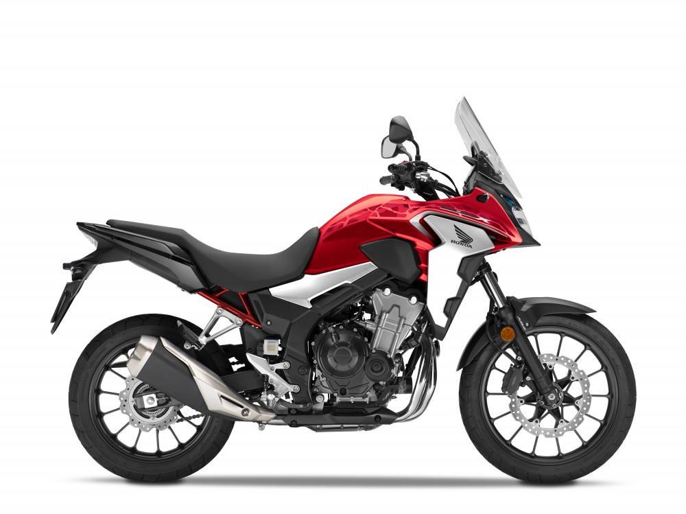 Honda CB500X Grand Prix Red