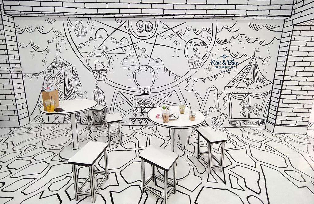 2D Cafe Taichung 紅點文旅 台中網美咖啡27
