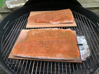 2020 248/366 9/4/2020 FRIDAY - Grilling Cedar Plank Salmon