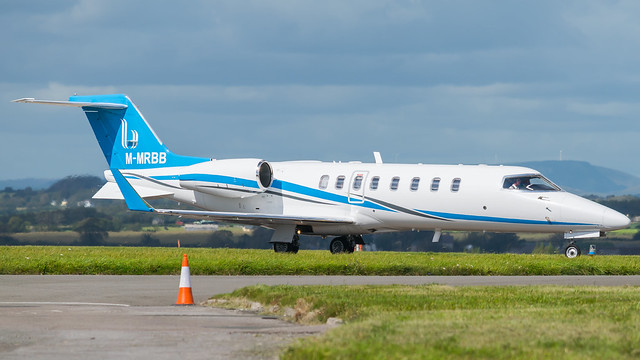 M-MRBB - Learjet 45 @ Cardiff Airport 05/09/20