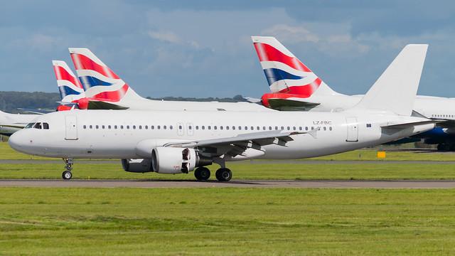 LZ-FBC - Bulgaria Air a320 @ Cardiff Airport 05/09/20